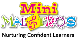 Mini Maestros Sticky Logo